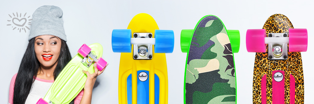 Hellmet Minicruiser Skateboards